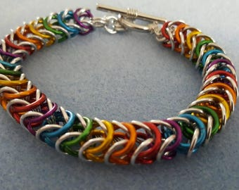 Chainmaille Box Bracelet