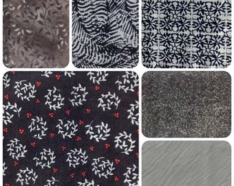 6 Fat Quarter Bundle