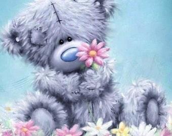 Teddy Bear Cross Stitch Pattern
