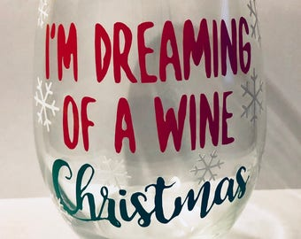 I'm Dreaming of a Wine Christmas, Wine Glass