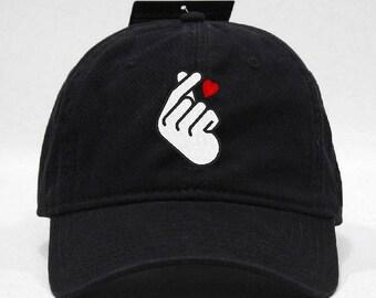 Finger Heart Hat