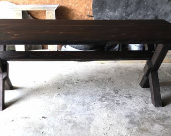 Eco Friendly Handmade Reclaimed Wood Dining Room Table