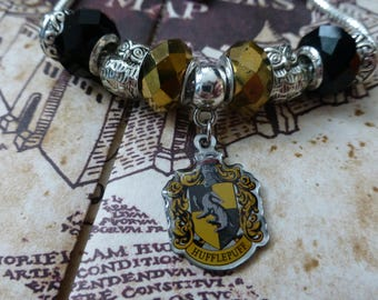 Hufflepuff House - A Harry Potter Themed Charm Bracelet