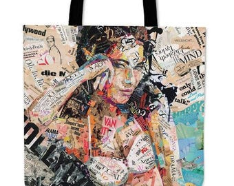 "Carry bag ""Hollywood"" by Ines Kouidis"