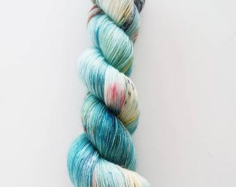100% Merino lace hand dyed