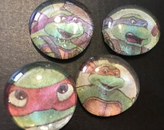 Teenage mutant ninja turtle bubble magnets