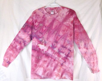 Small Tie Dye Long Sleeve T shirt