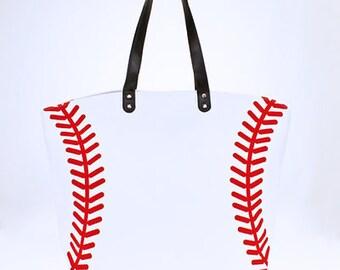 Baseball Tote Bag Purse