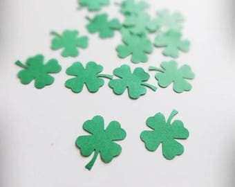 St Patricks Day Decor, St Patricks Day Confetti, Shamrock Confetti, Clover Decor, Clover Party, Clover Confetti, Irish Wedding Decorations