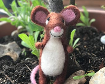 Needle felted Mouse from The Gruffalo
