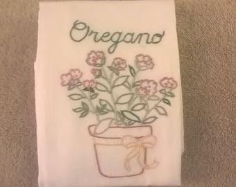Oregano Kitchen Towel