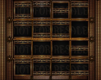 ROCOCO BLACK texture pack for IMVU or secondlife game site