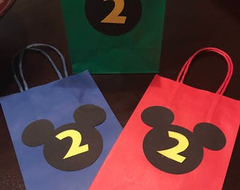 Mickey party bags