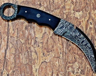 Beautiful handmade karambit knife