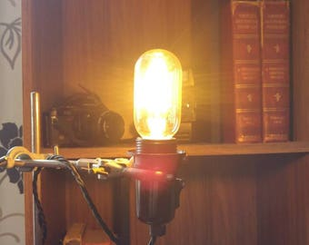 """Urban look Industrial Chemistry Set Table Lamp """"Dr Steam Punk's operation lamp"""""""