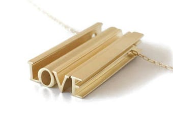 The Hidden Message Necklace