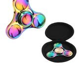 Coloful tri-hand fidget spinner toy - fast bearing - for kids and adults