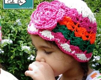 Cute crochet cap for girls