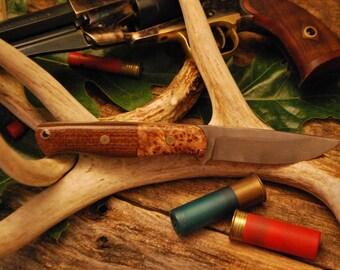 Fixed Blade Handmade Knife by Haw Creek Blade