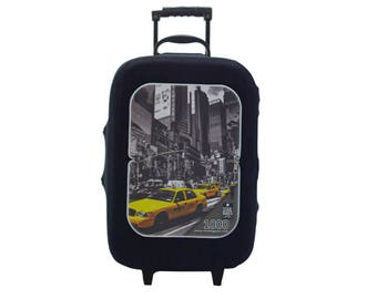 New York City Luggage Cover