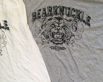 Bearknuckle Customs Grey Tee