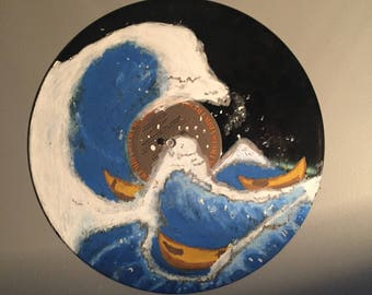 The Great Wave Painted Record