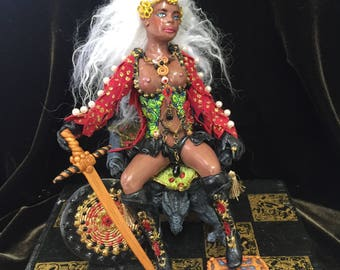 One of a Kind Art Doll