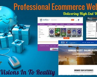 Marketplace Multi Vendor and Ecommerce Website Design for your Business