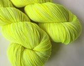 Hand dyed yarn - Middle School Manicure - Moor - 100% superwash merino wool - fingering weight sock yarn