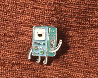 Adventure Time Beemo hat pin
