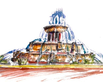Buckingham Fountain print