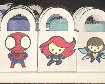 Superhero- Small Favor Bags