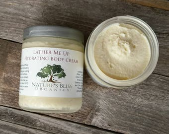 Lather Me Up. Hydrating Body Cream