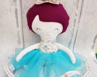 Ballerina princess rag doll