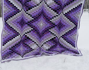 Custom made-to-order Bargello King Size Quilt