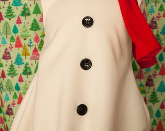 snowman outfit/snowman costume/girl snowman/ boy snowman/Christmas snowman /birthday snowman/ winter costume/ unisex costume