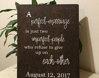 Marriage is... Sign