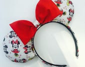 Minnie Mouse inspired Minnie Mouse Ears