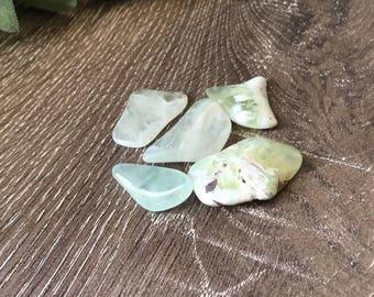 Tumbled Prehnite Crystal