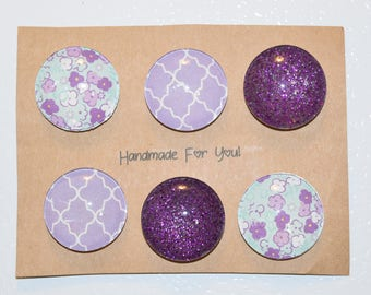 All About Purple Refrigerator Magnets