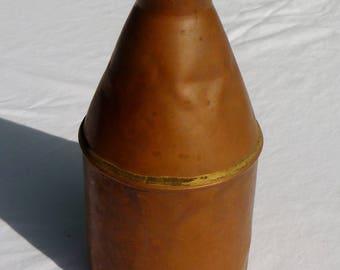 vintage copper canteen, jug, thermos