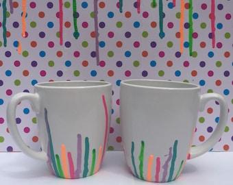 Rainbow Drip Mug
