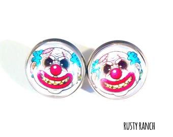 clown earrings