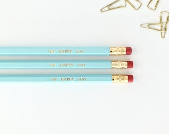 CUSTOM - Personalised Pencils (Hexagon)