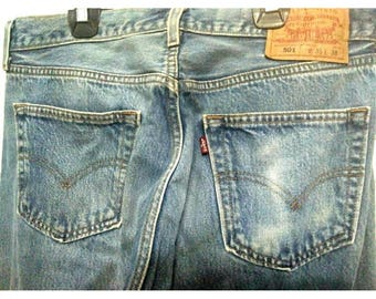 Levis 501 vintage Made in Guatemala W 35 L 38