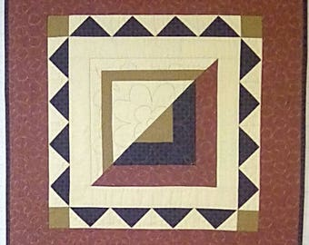 Pieced Basket Quilted Wall Hanging/Table Topper