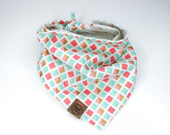 Confetti Pop: Reversible Dog Bandana