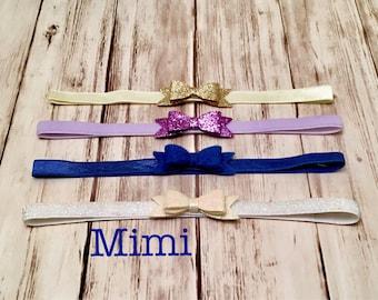 Mimi Design: Sparkly Hair Bow Headband