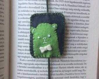 Handmade Animal Felt Bookmark