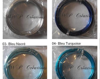 transparent glass 4 mm x 5 m - (many colors available)